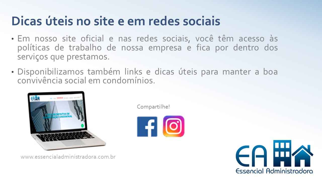 Banner Essencial Administradora redes sociais