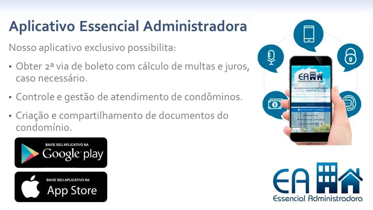 Banner Essencial Administradora app