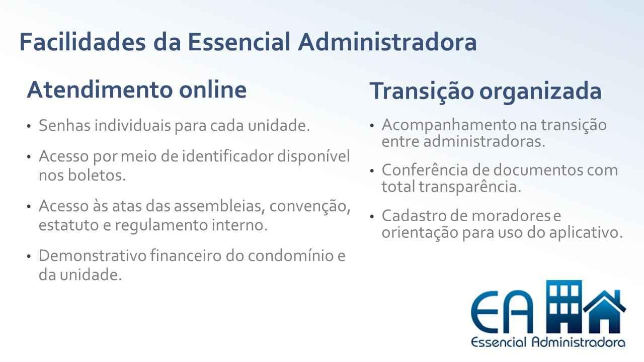 Banner Essencial Administradora facilidades